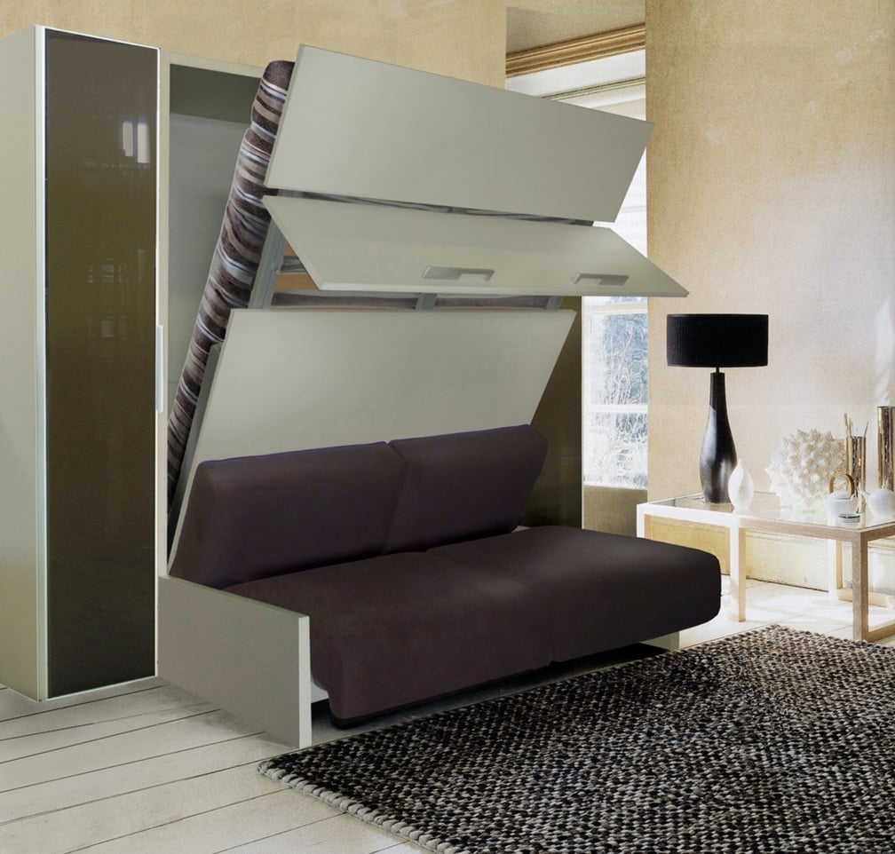 Avis lit gain de place test comparatif - Lit armoire gain de place ...