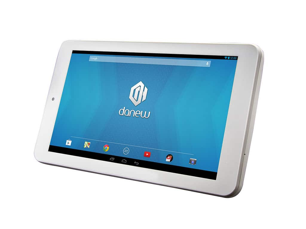 avis tablette tactile danew