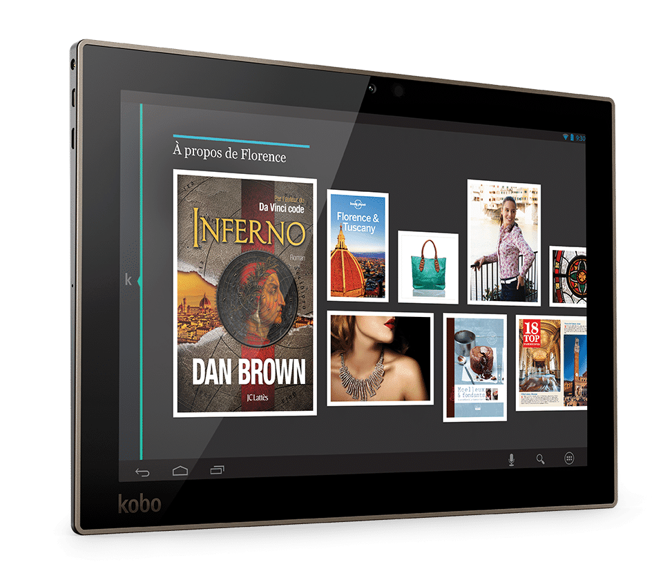 avis tablette tactile kobo test comparatif. Black Bedroom Furniture Sets. Home Design Ideas