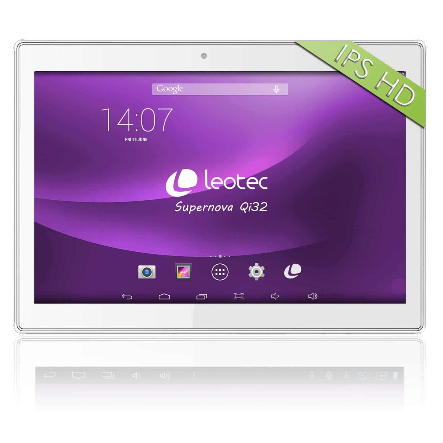 avis tablette tactile leotec