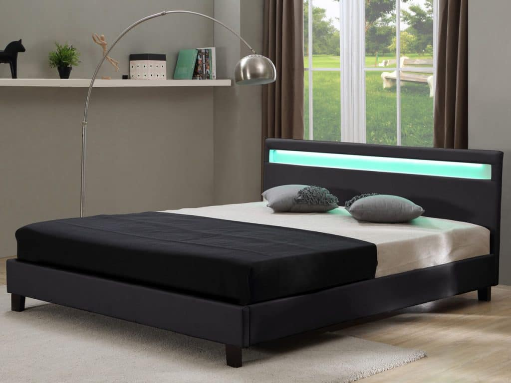 meilleur lit habitat et jardin 2018 avis test comparatif. Black Bedroom Furniture Sets. Home Design Ideas