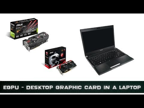 carte graphique externe pc portable