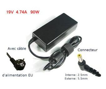 chargeur pc portable asus 19v 4.74a