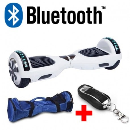 hoverboard blanc bluetooth
