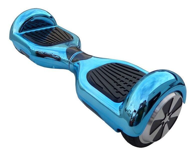 hoverboard bleu turquoise