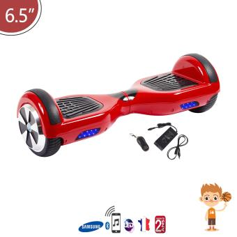 hoverboard rouge bluetooth