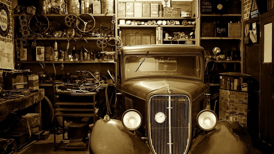 Avoir un atelier automobile