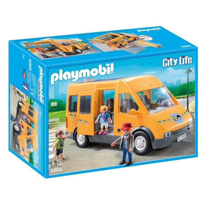bus scolaire playmobil