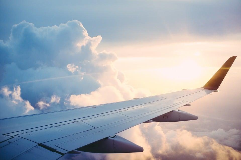 Prendre l'avion en famille